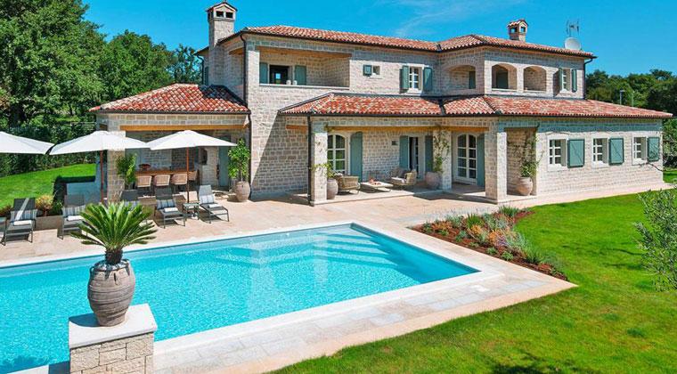 Ein Luxusferienhaus für die gesamte Familie in Istrien