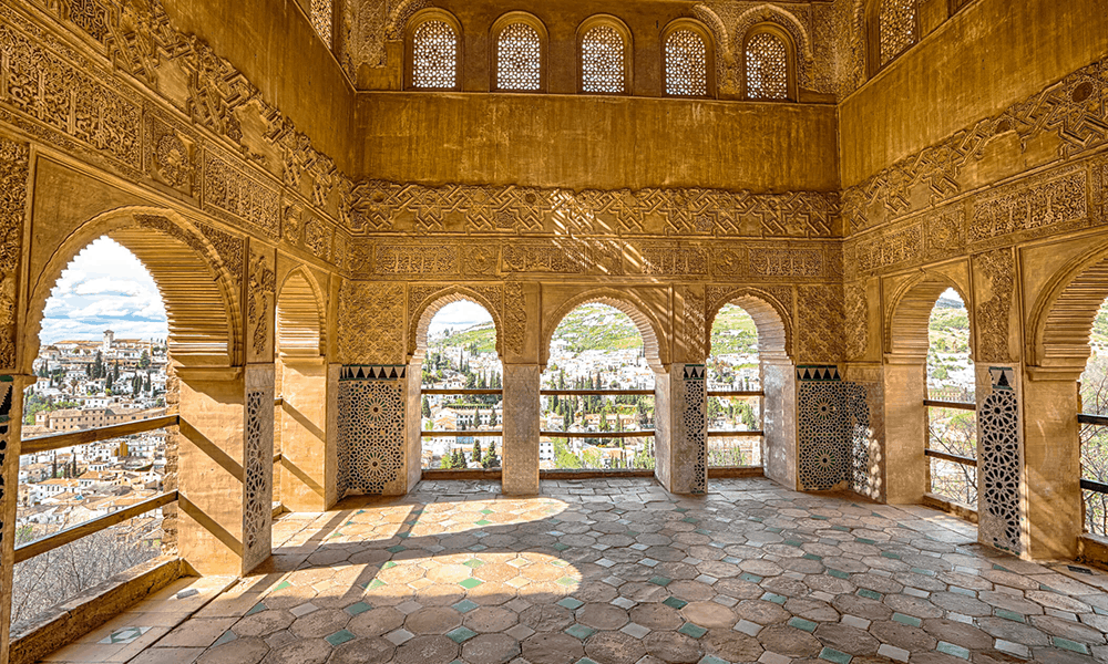Plane für die Palast-Besichtigung und die phantastische mittelalterliche Gartenanlage Generalife mindestens vier Stunden Besuchszeit ein!