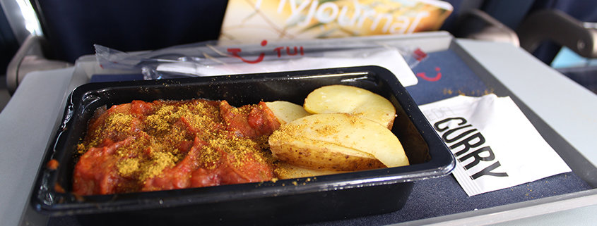 Tag der Currywurst bei TUI fly