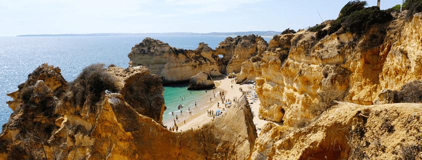 Im Herbst und Winter an die Algarve. Strandurlaub in Alvor