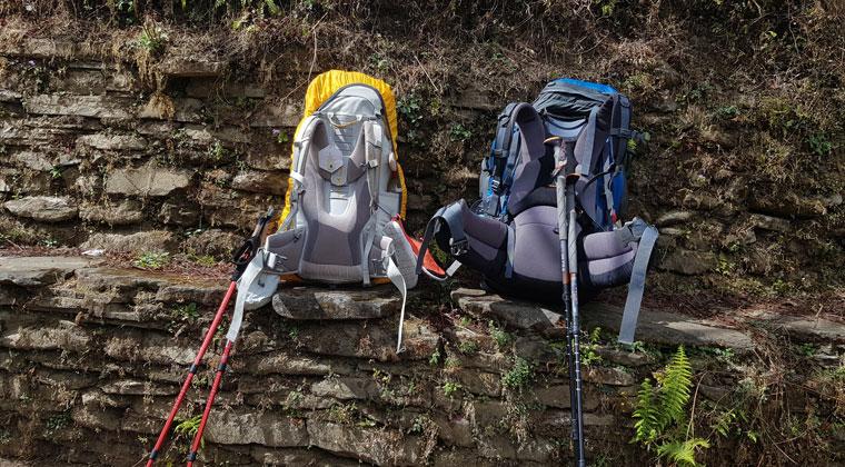 Annapurna Trek Gepäck