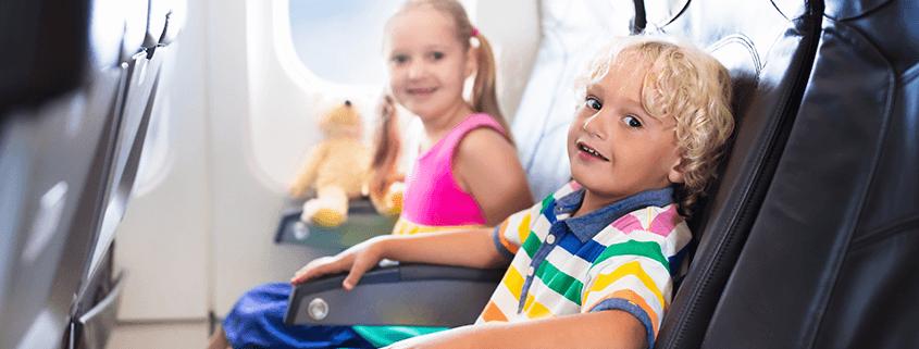 Kindersitze an Bord