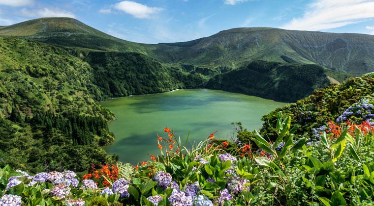 Flores Azoren Inseln