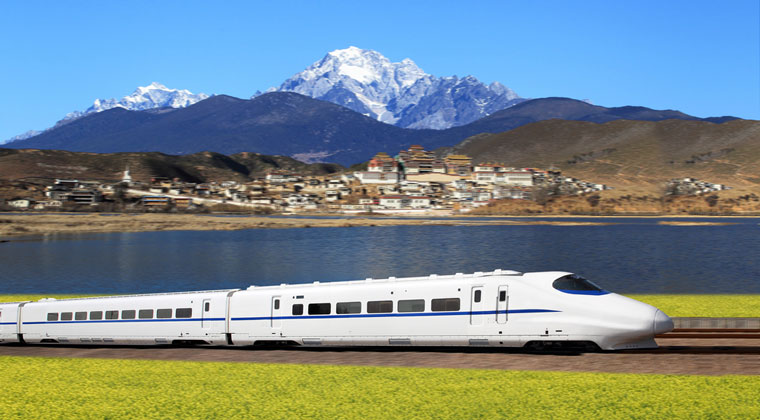 Highspeed Zug in China