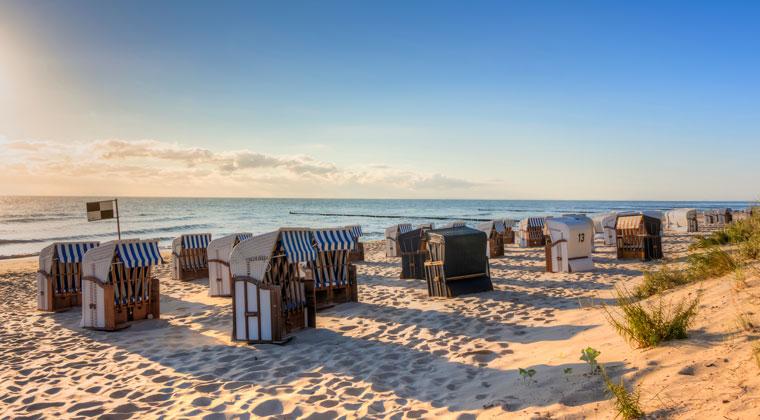 Strand auf der Insel Usedom