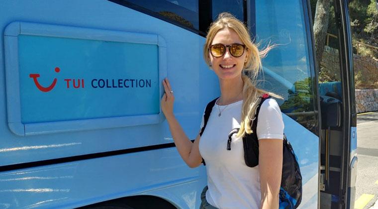 Katharinavor dem TUI Collection Bus