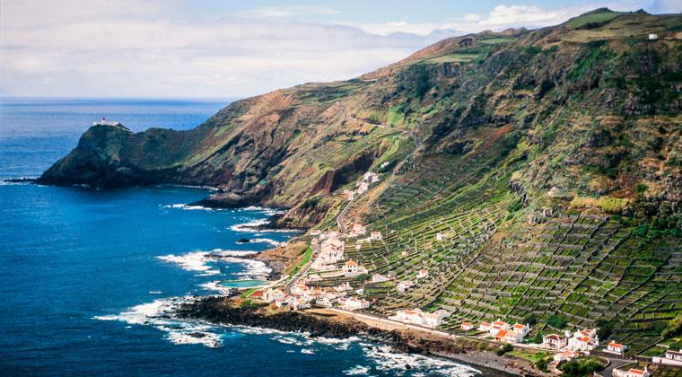 Santa Maria Azoren Insel