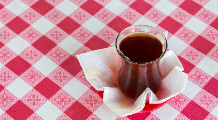 Teepause bei den Einheimischen
