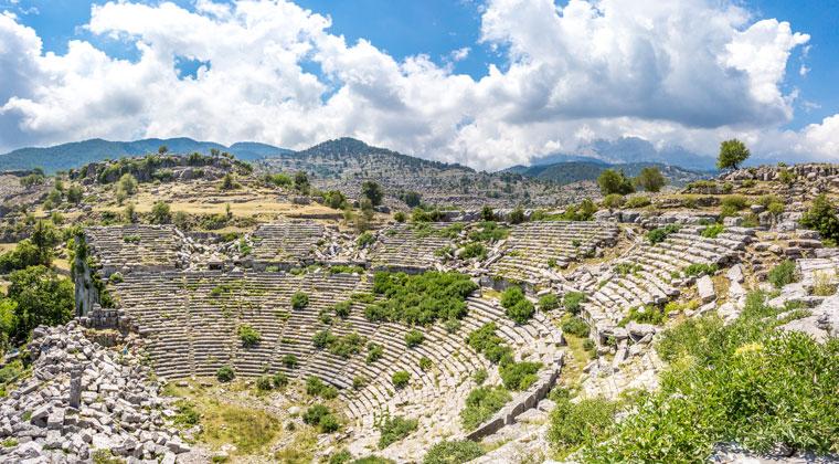 Römisches Theater in Selge