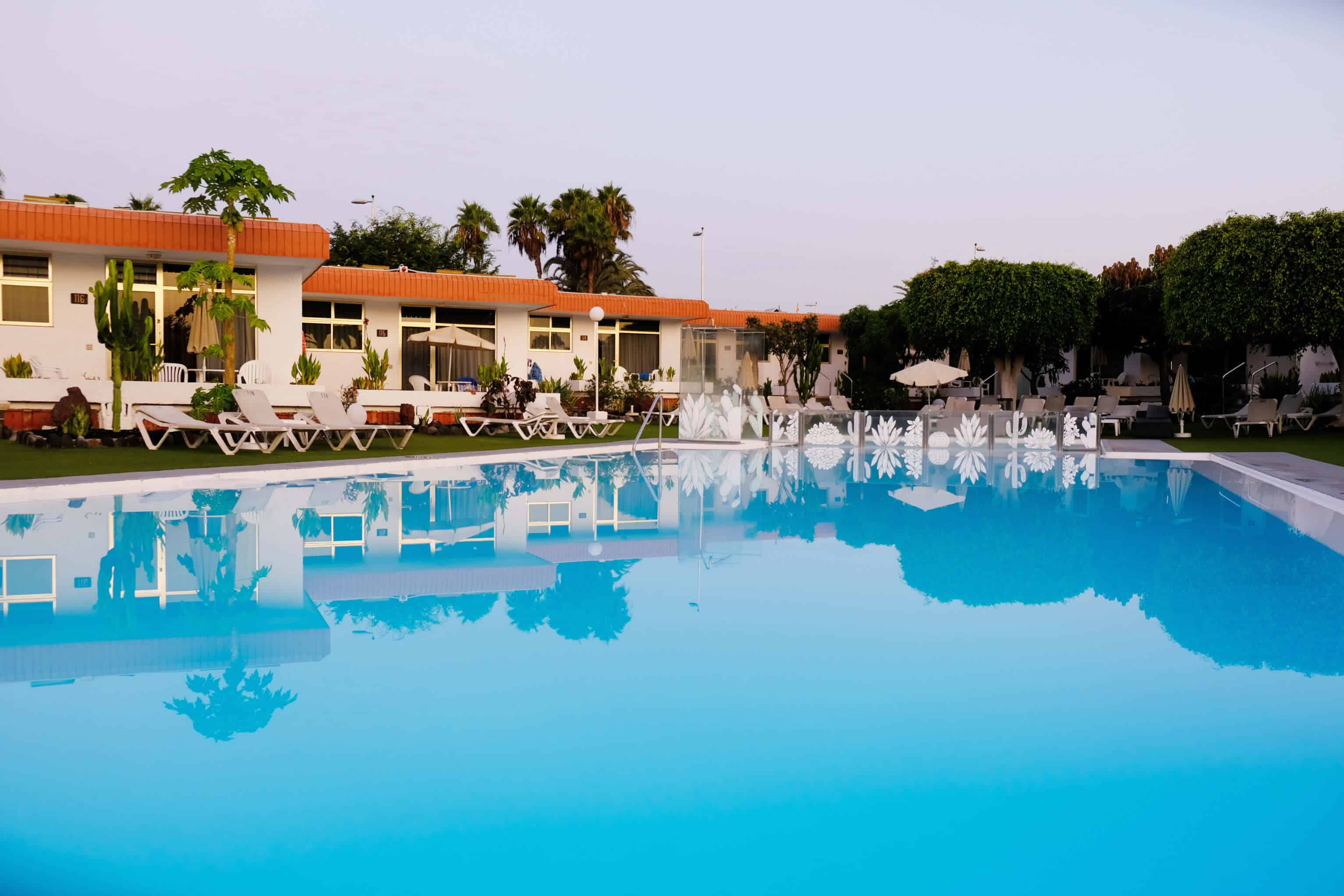 Ideal für Langzeiturlauber sind die Bungalows Dona Rosa in Playa del Inglés.