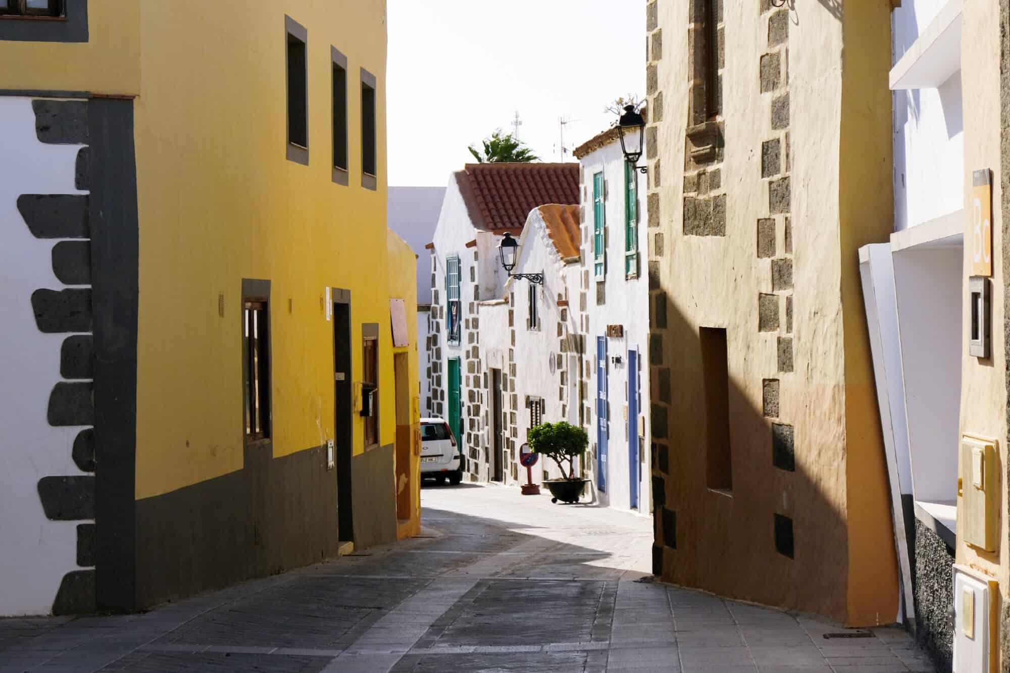 Gasse in Agüimes, Gran Canaria
