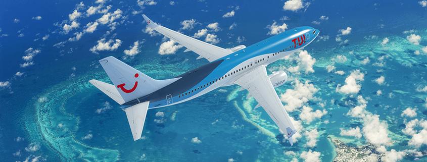 Bei klimaeffizienten Flugreisen spielt TUI fly in der ersten Liga