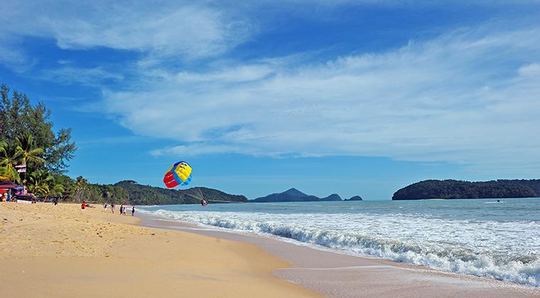 Cenang Beach auf Langkawi