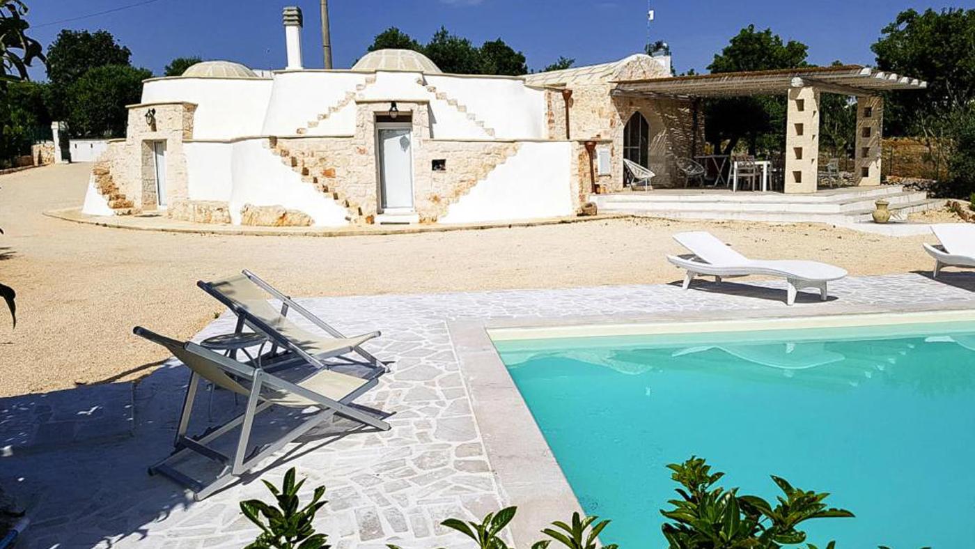 Ferienhaus mit Pool in Italien Apulien
