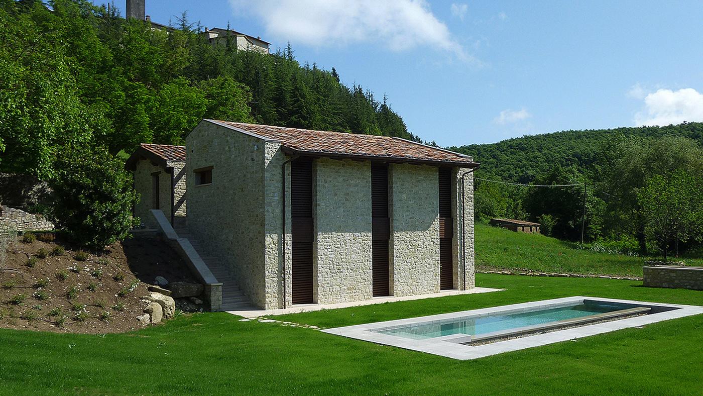 Ferienhaus mit Pool in Italien, Umbrien