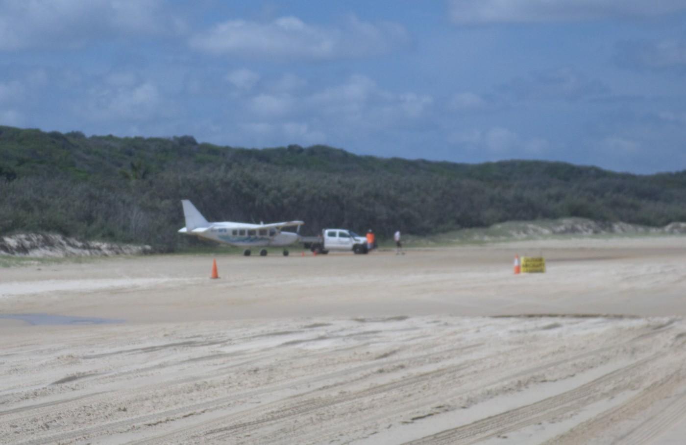 flugzeug fraser island australien