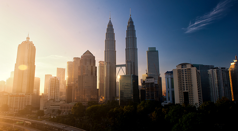 Petronas Twin Towers Malaysia Sehenswürdigkeiten