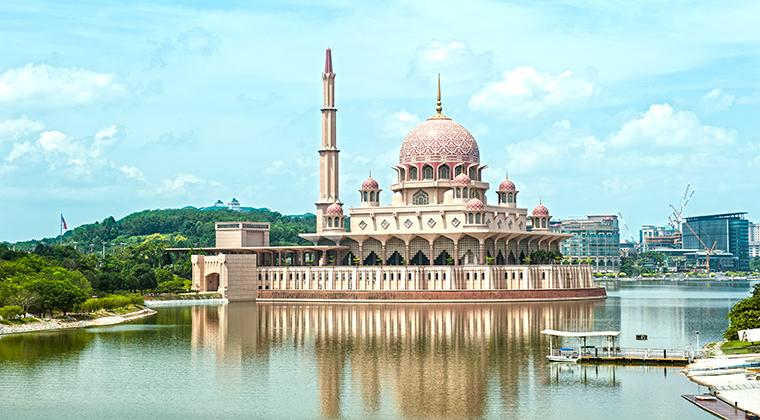 Putra-Moschee Malaysia Sehenswürdigkeiten