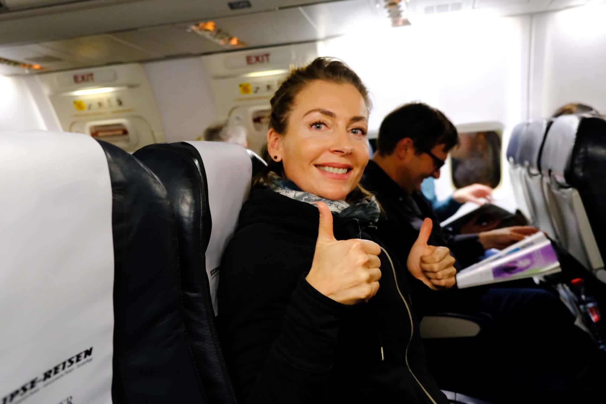 Auf zum Polarlichtflug mit TUI fly
