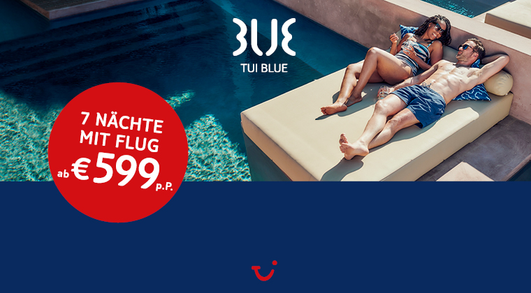 TUI BLUE For Two Aktion