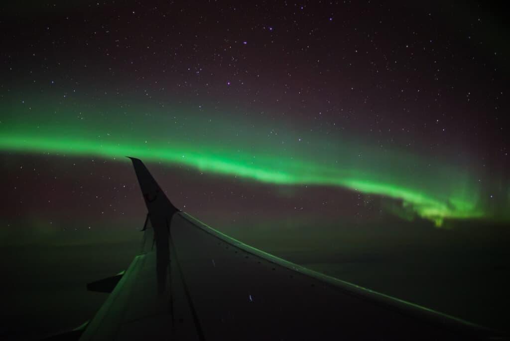 Hunting the Northern Lights: Mein Polarlichtflug über dem Nordatlantik