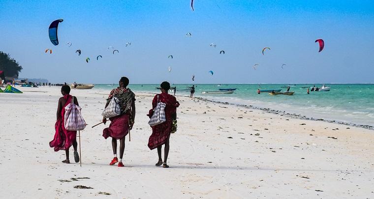 Paje Strand Sansibar