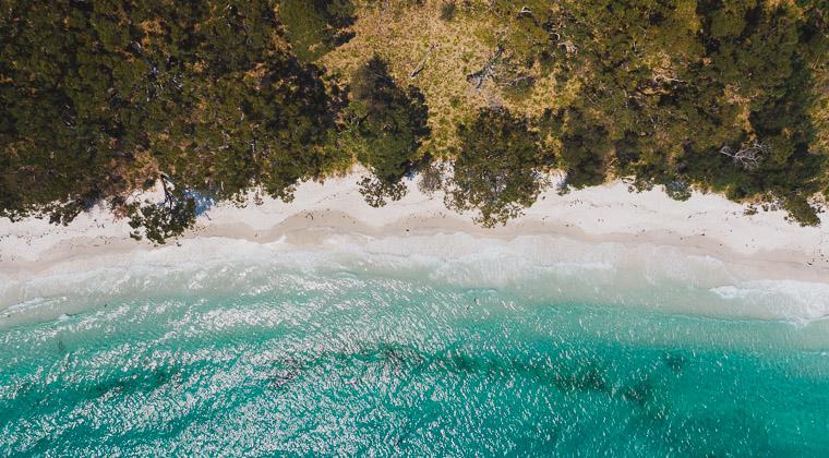 Strand im Booderee Nationalpark