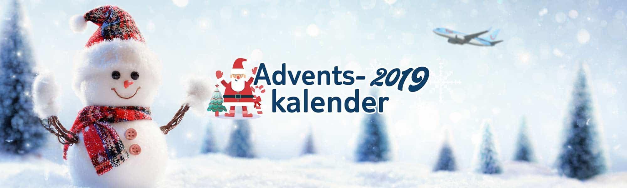 Adventskalender 2019 – mach mit und gewinne tolle Preise!