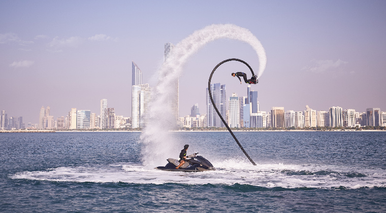Abu Dhabi Strand Corniche