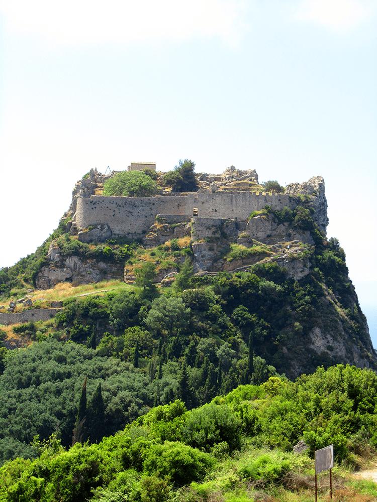Angelokastro die Tyrannenburg auf Korfu