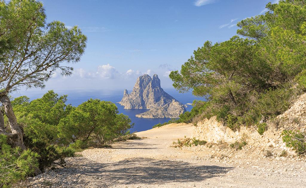Insel Es Vedra, Insel Ibiza, Balearen, Romantische Hochzeitslocation