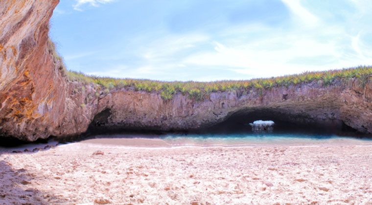 Hidden Beach Mexiko
