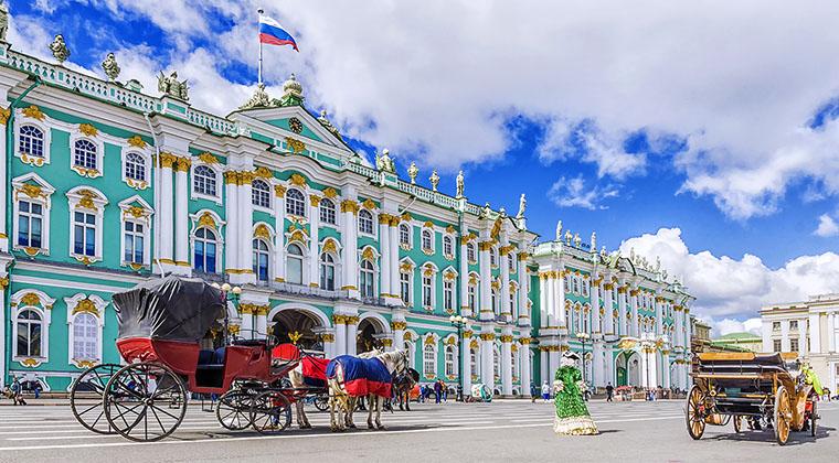 Winterpalast in Sankt Petersburg