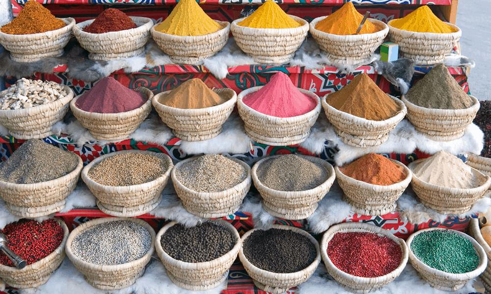Die ägyptische Küche wird unter anderem durch die verwendeten Gewürze so einzigartig.