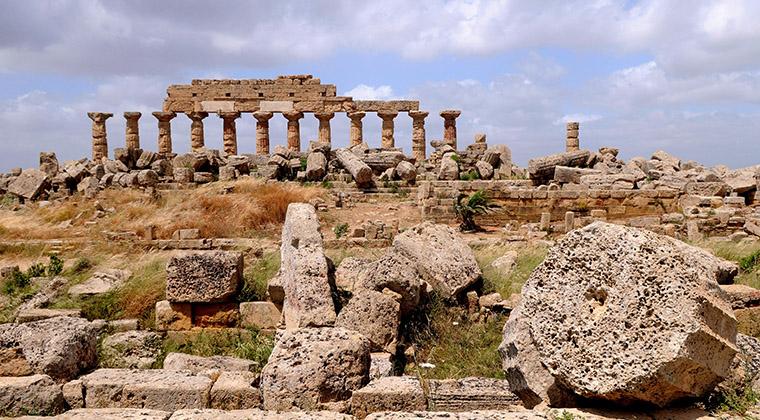 Tempel in Selinunt
