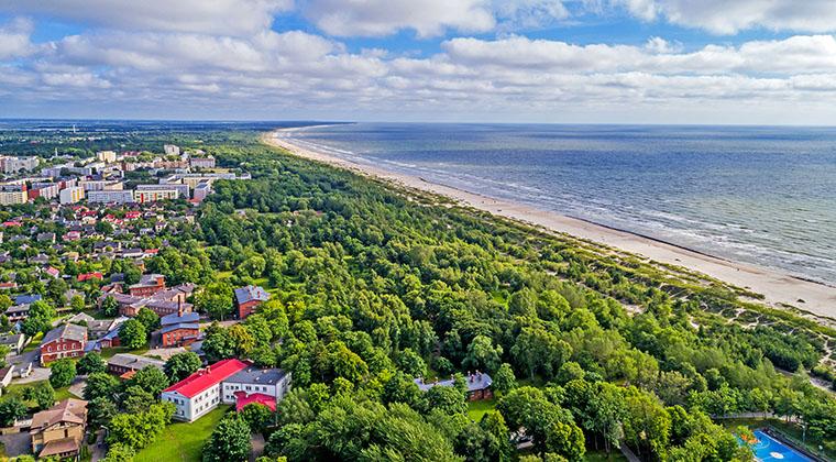 Strand in Liepaja