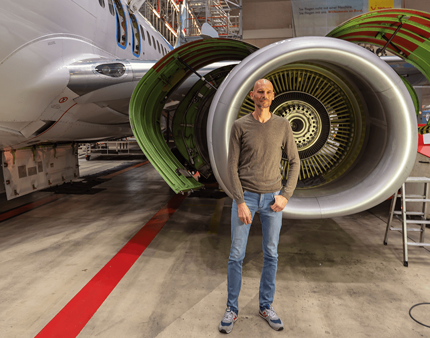 Winterwartung mit Ricardo Hintze Senior Manager TUI fly Technik
