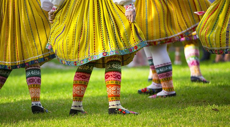 tanzen in Estland