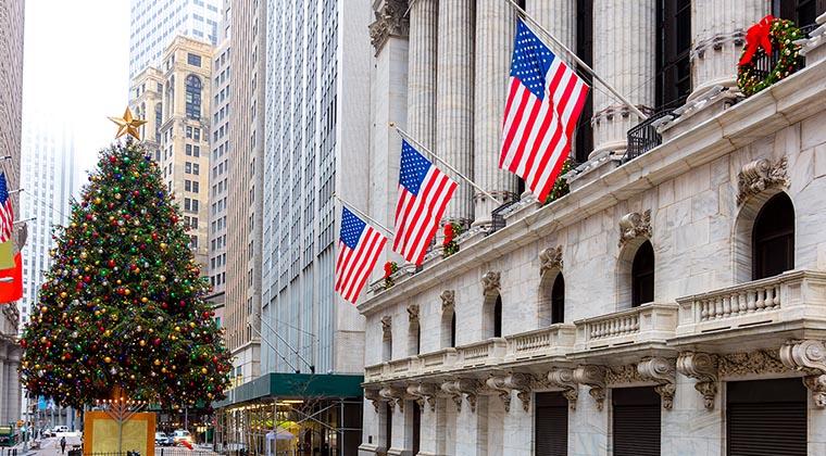 Weihnachten in NYC