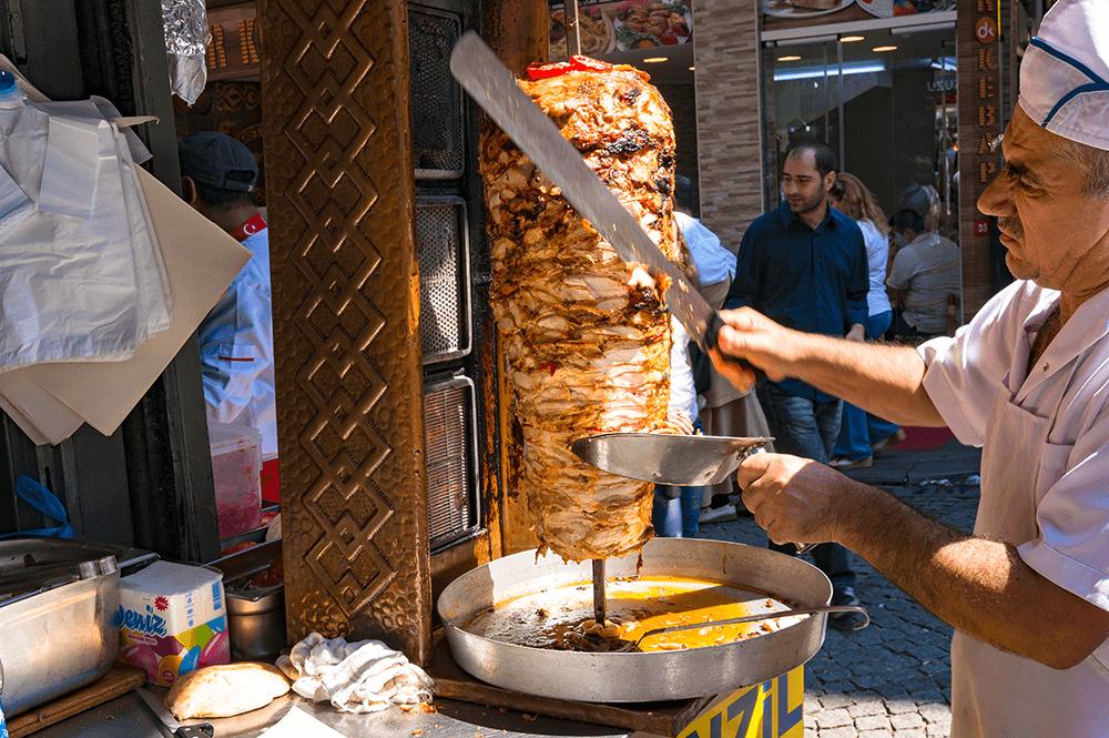 Der türkische Kebab