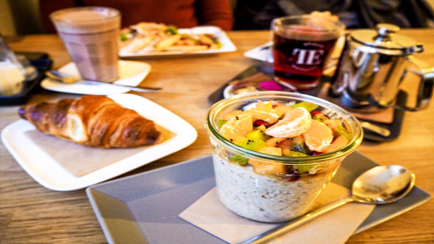 Frühstück im Bell and Beans ist sehr zu empfehlen