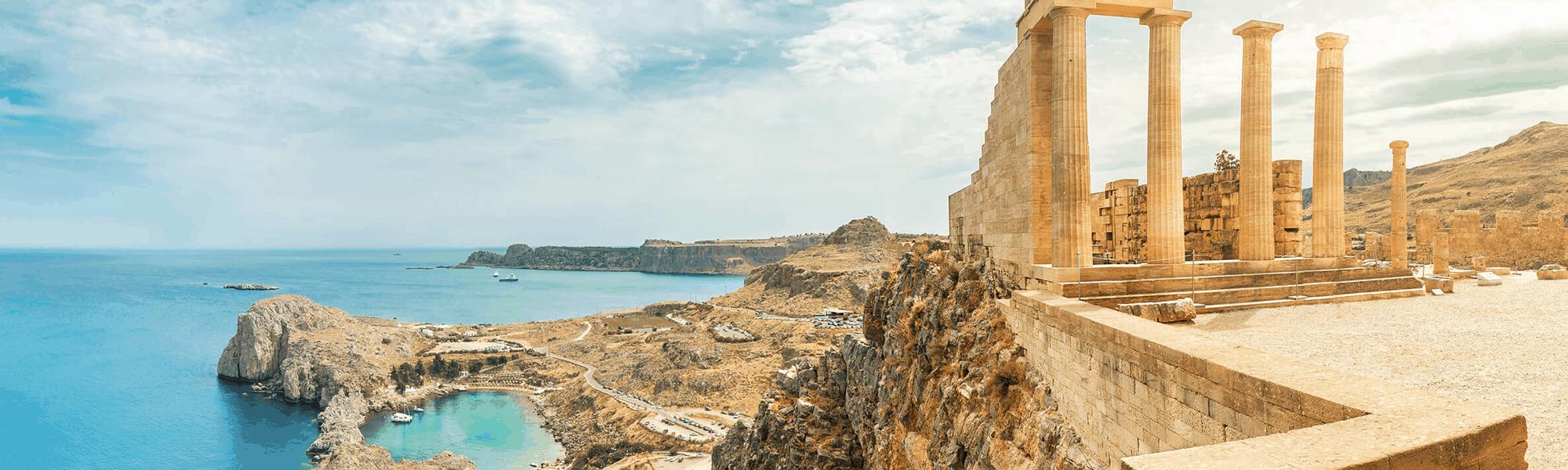 Rhodos: Erlebte Mythologie und Geschichte
