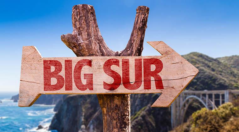 Big Sur Schild