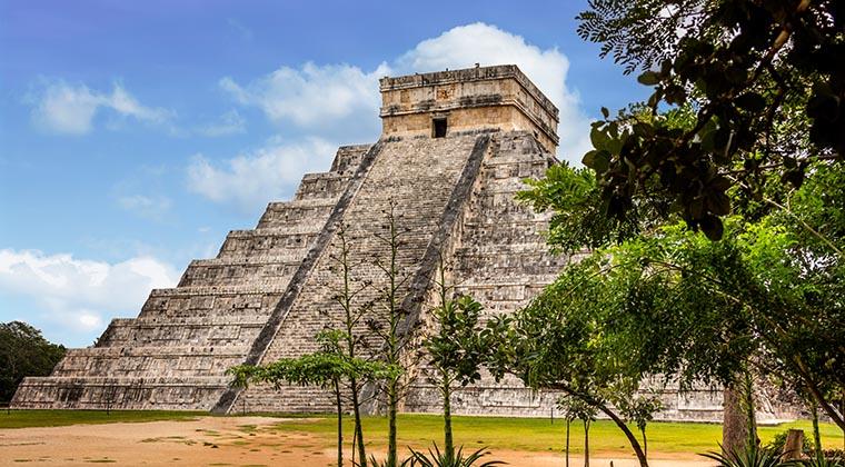 Kukulkan-Pyramide in Chichén Itzá