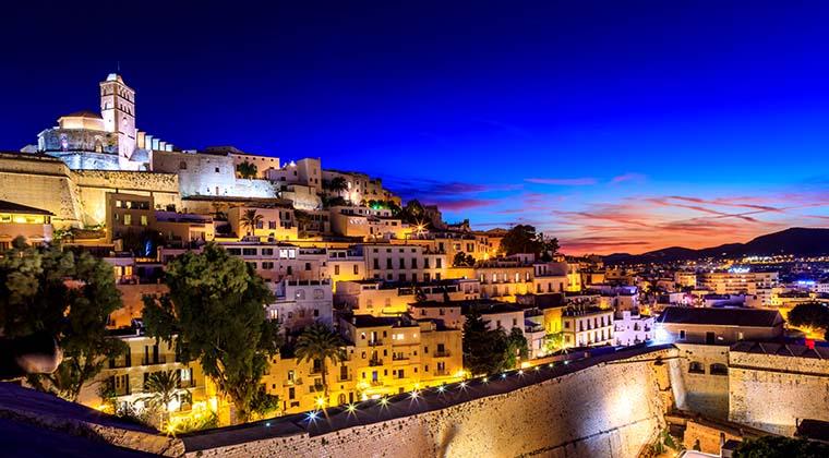 Sonnenuntergang in Ibiza
