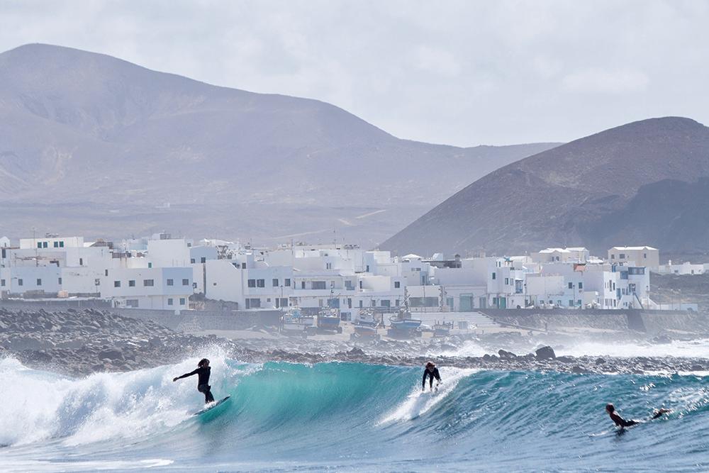 Surf Hotpot La Santa auf Lanzarote.