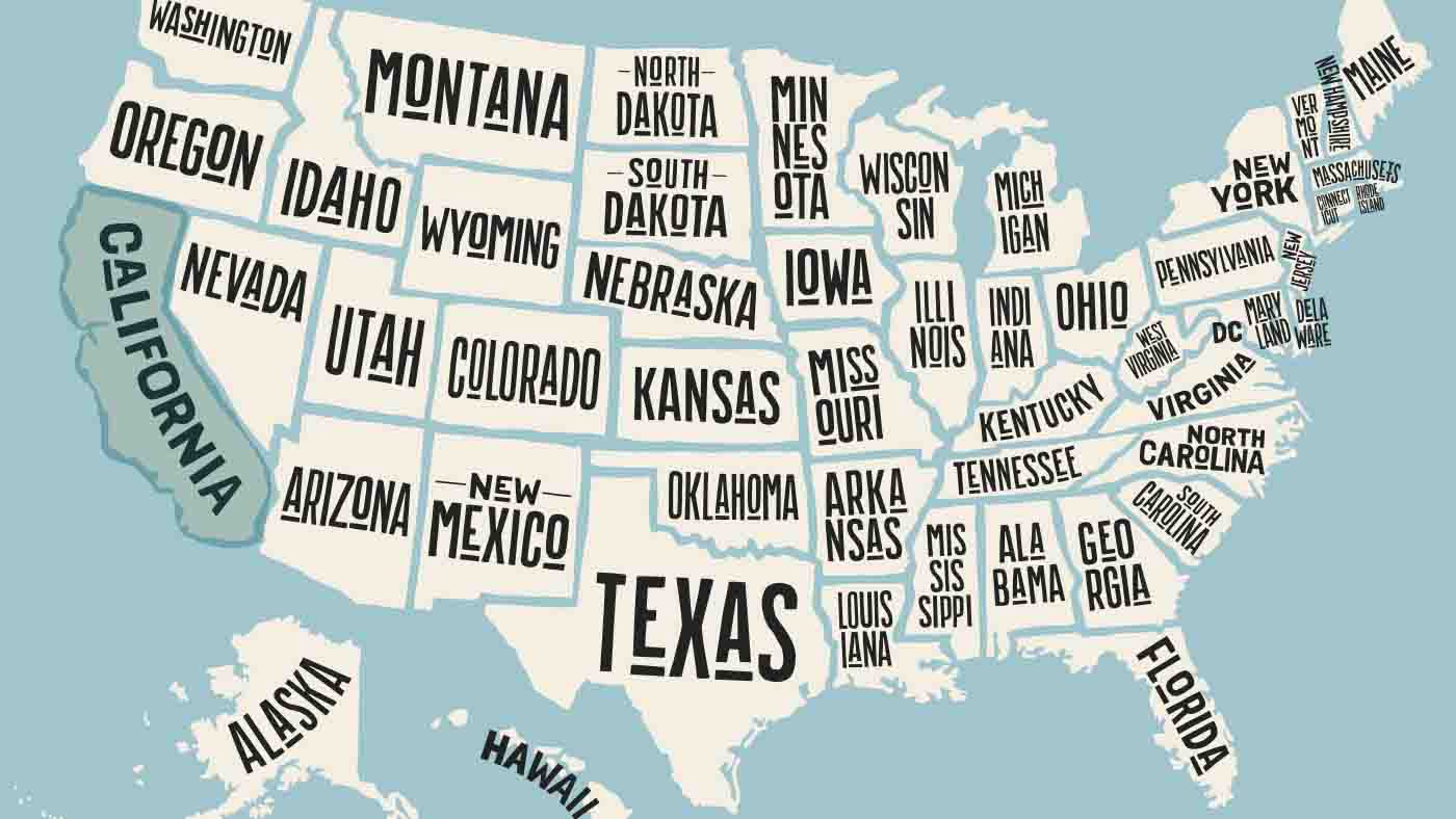 Roadtrip USA Grafik