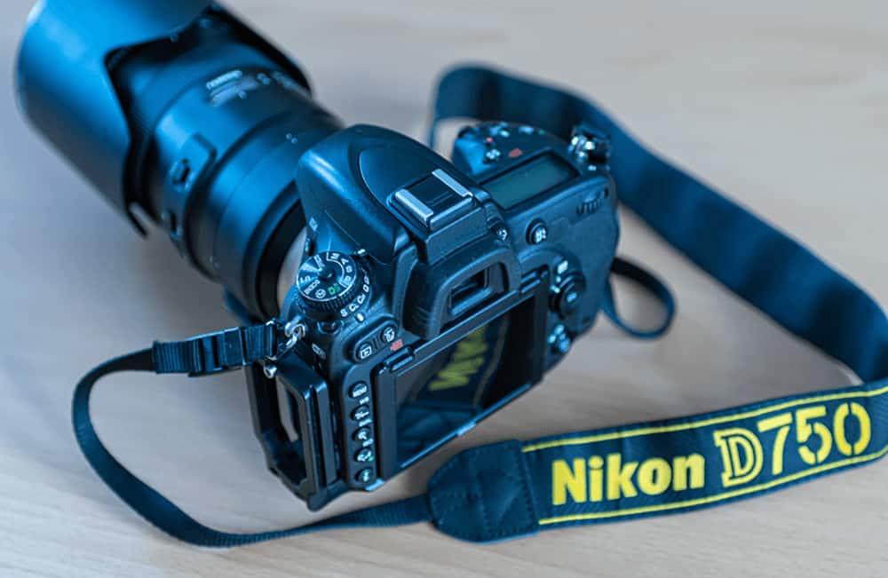 Nikon D750 FX Vollformat Kamera.