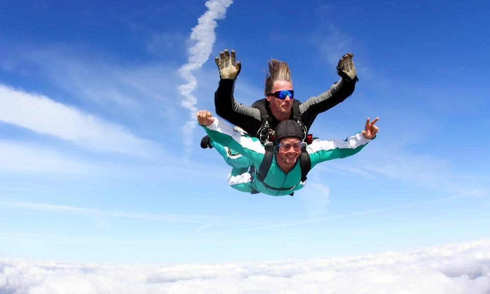 Tandemsprung auf Gran Canaria