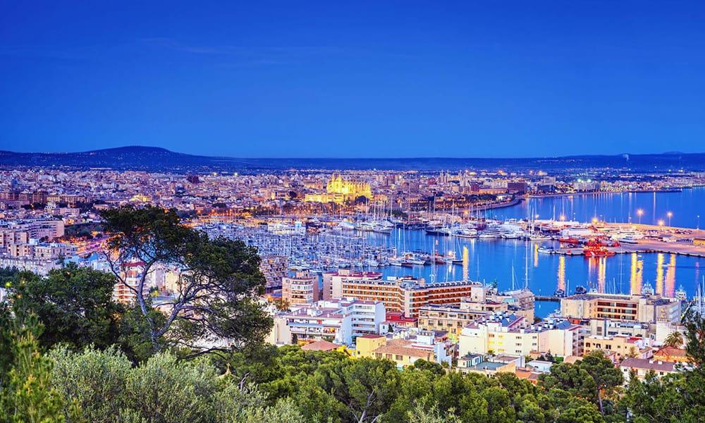 Panorama von Palma de Mallorca